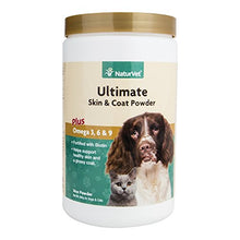 Ultimate Skin & Coat Plus Omega Acids by NaturVet, 14 oz Powder