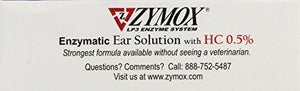 Zymox Enzymatic Ear Solution for Dog & Cat, Inflammation Relief