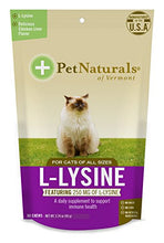L-Lysine Chews for Cats, 4 Pack (60 Chews)