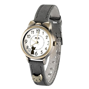 Kitty Women's Quartz Wrist Watches with Cat Ears