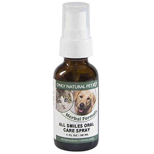 Only Natural Pet Oral Care Spray, Veterinarian Formulated