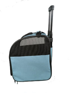 Wheeled Collapsible Breathable Travel Pet Carrier