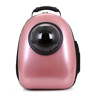 Pink Innovative Patent Bubble window Backpack
