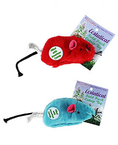 Catnip Filled Mouse Plush Cat Toy