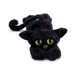 "Toy Ziggy Black Cat Toy by Manhattan, 14"" long"
