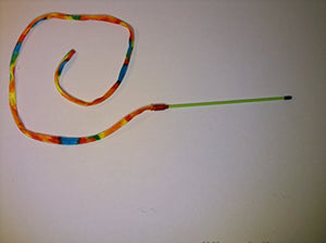Colored Snake Teaser Wand Toy