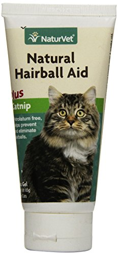 Natural Cat Hairball Aid Plus Catnip Gel by NaturVet, 85 g