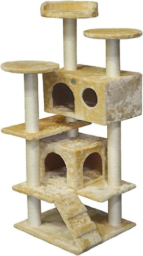 Go Pet Club Condo Scratcher Post Pet Bed Tree