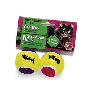 Catnip Treated Mini Tennis Balls