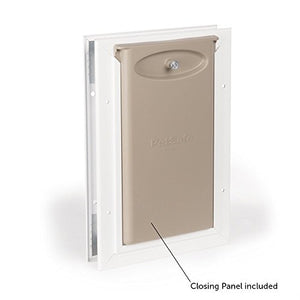 Solid Aluminum Frame Flap Cat Door
