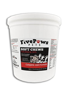 Soft Chews for Dogs & Cats by Five Paws, 60 Count