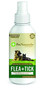 FLEA + TICK Repellent Spray by Pet Naturals, Refreshing Smell