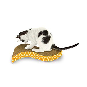 S Curved Catnip Cat Scratcher