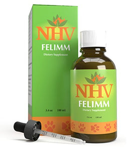 Natural Herbal Support With Feline Leukemia Virus by NHV, 3.4 oz