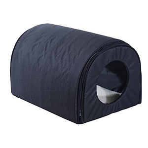 Cat Shelter with Heated Pad