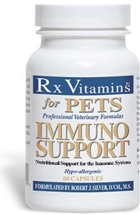 Rx Vitamins 60 Capsules Immuno Support for Pets, One Size