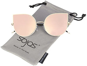 Cat Eye Anti-glare Lenses Ultra Thin Sunglasses by SojoS