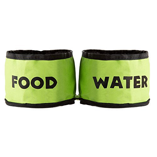 Collapsible Travel Pet Bowls for Dogs or Cats