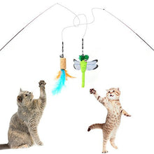 Portable Teaser Wand Set Cat Toy