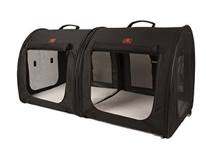 2-in-1 Double Pet Travel Kennel