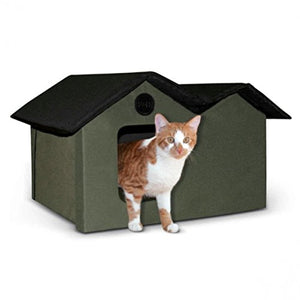 Outdoor Cat House, Water-Resistant