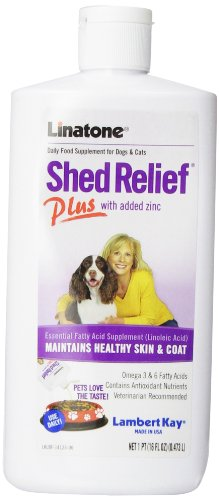 Linatone Shed Relief Plus with added Zinc, 16 fl oz