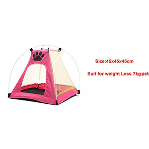 Portable Cat Playpen Tent, Soft fabric