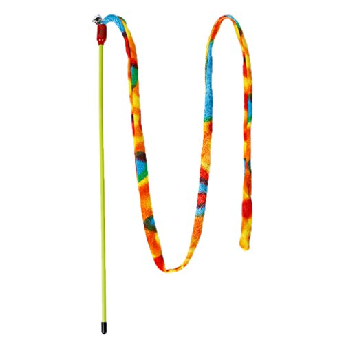 Colorful  Teaser Wand Cat Rope