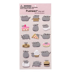 Pusheen Polyester Blend 18 Sticker Sheet