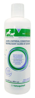 Aloe and Oatmeal Conditioner by Vet Solutions, Natural Soothing Agents