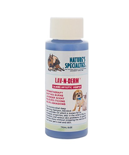Nature's Trial Size Specialties Lav N Derm Shampoo for Pets