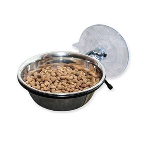 Cat Diner Bowl 12oz. - Mounts to any smooth surface