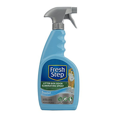 Litter Box Odor Eliminating Spray by Fresh Step, 24 Ounces