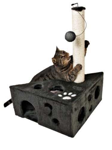 TRIXIE Murcia Cat Tree with 12 Peek a Boo Holes