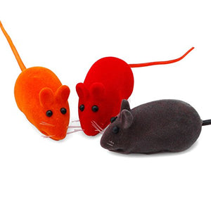 Artificial Leather Mice Cat Toy