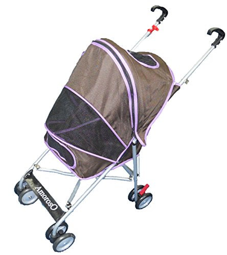 600D polyester fabric Pet Stroller