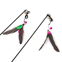 Artificial Feather Cat Teaser Cat Toys