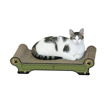 Peacock Style Sofa Cat Scratcher