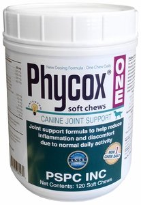 PhyCox Soft Chews (120 Soft Chews) Canine Joint Support