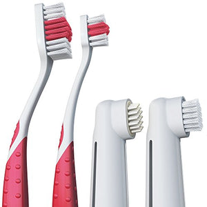 Next Level Pet Premium Triple Toothbrush Value Pack Stop Bad Breath