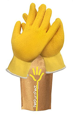 Lorde Yellow Pet Hair Remover Brush Glove
