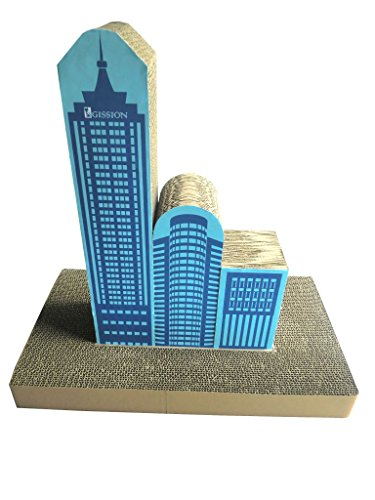 Tall Skyscraper Shape Cat Scratcher