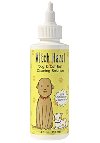 Witch Hazel Dog and Cat Ear Cleaner, 100% Satisfaction Guaranteed