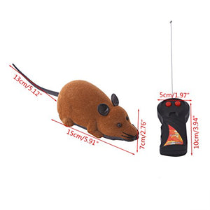 Remote Control Brown Mouse Toy for Cats