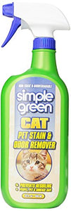 Cat Stain and Odor Remover Prevents Resoiling