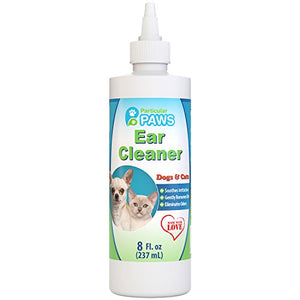 Ear Cleaner for Dogs and Cats by Particular Paws, 100% Pure