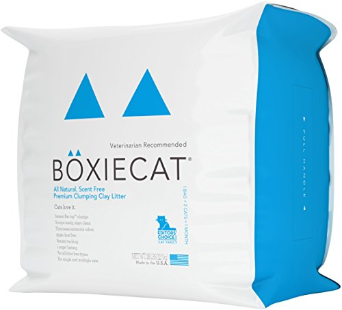 Clumping Clay Cat Litter by Boxiecat, 28 lb