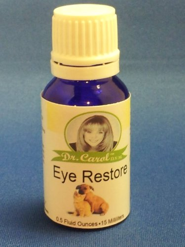 Dr. Carol's Eye Restore for Dogs & Cats, 0.5 Fluid Ounces