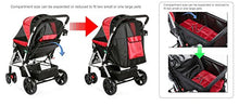 Weather Resistance Pet Stroller for Small Dogs and Cats