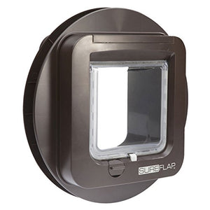 Mounting Adapter Cat Flap, Round